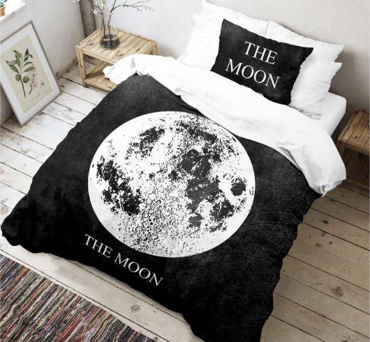 3D povlečení 140x200, 70x90cm Moon