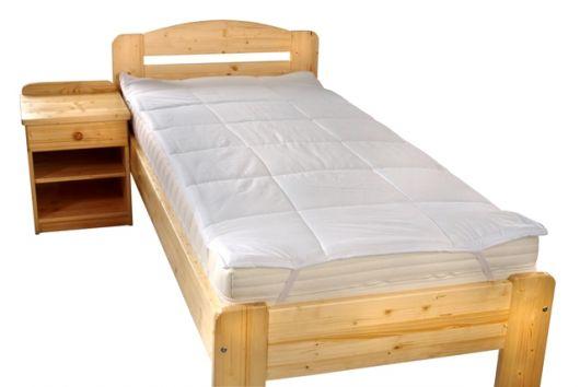 Chránič matrace prošitý z dutého vlákna 80x200cm