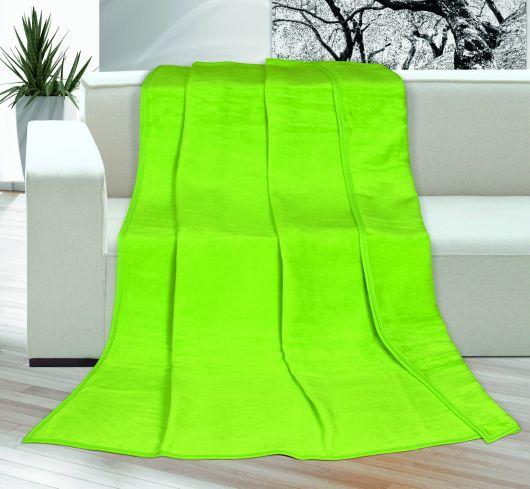 Deka jednobarevná 150x200cm zelená