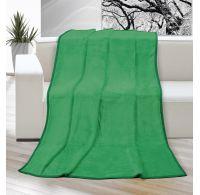 Deka micro jednobarevná 150x200cm zelená