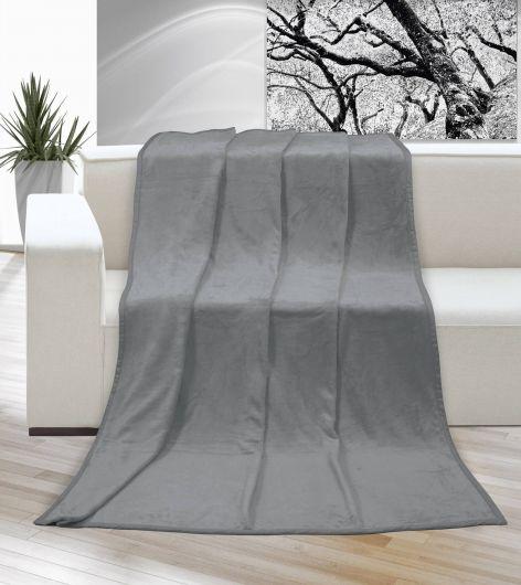 Deka Micro jednobarevná 200x230cm šedá