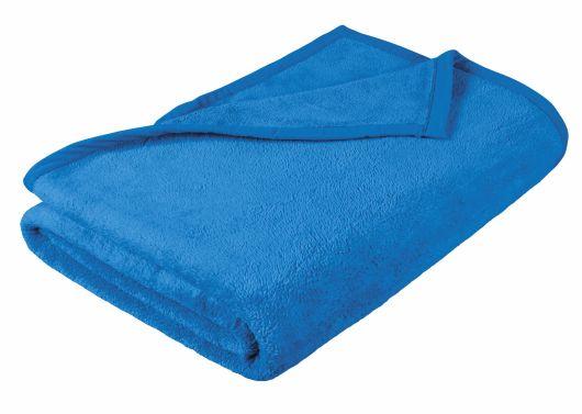 Dětská přikrývka Micro 100x150cm modrá