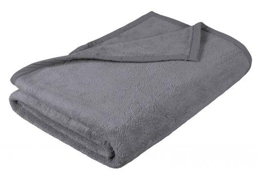 Dětská přikrývka Micro 100x150cm šedá
