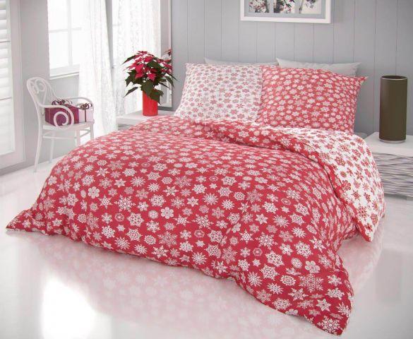 Oblečte Vaší ložnici do povlečení s vánočním motivem