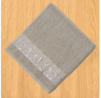 Froté osuška bordura 70x140cm šedá