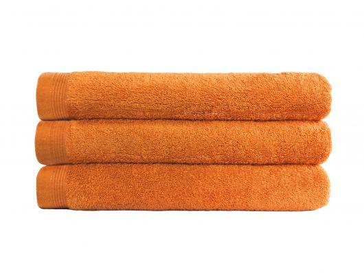 Froté osuška Klasik 70x140cm oranžová