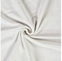 Froté prostěradlo 100x200cm bílé