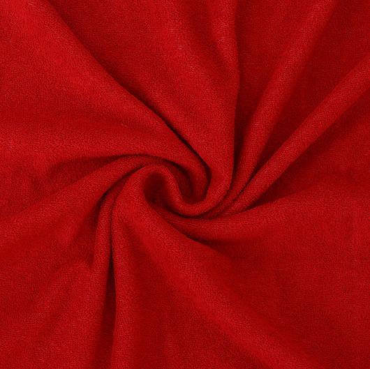 Froté prostěradlo 100x200cm červené