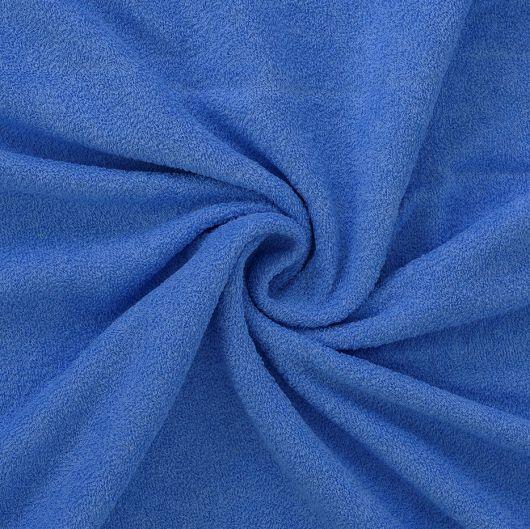 Froté prostěradlo 100x200cm modré