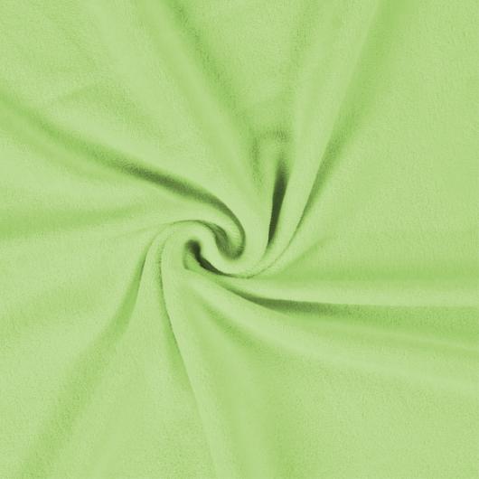 Froté prostěradlo 100x200cm světle zelené