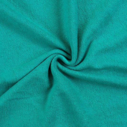 Froté prostěradlo 100x200cm tmavě zelené