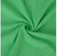 Froté prostěradlo 100x200cm zelené