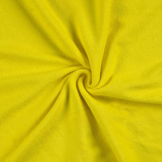 Froté prostěradlo 120x200cm citrón
