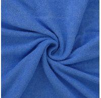 Froté prostěradlo 120x200cm modré