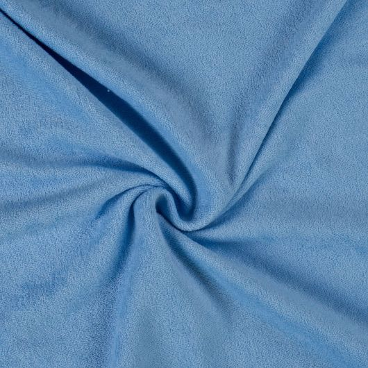 Froté prostěradlo 120x200cm světle modré