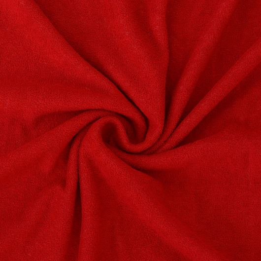 Froté prostěradlo 140x200cm červené