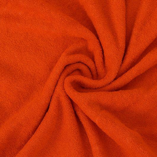 Froté prostěradlo 140x200cm oranžové