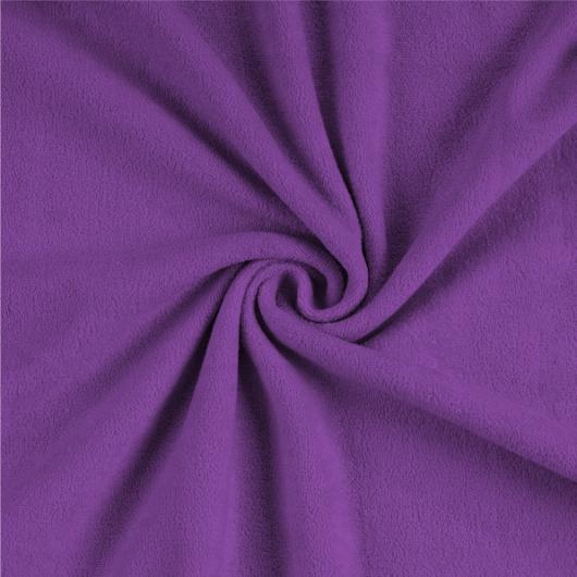 Froté prostěradlo 140x200cm tmavě fialové