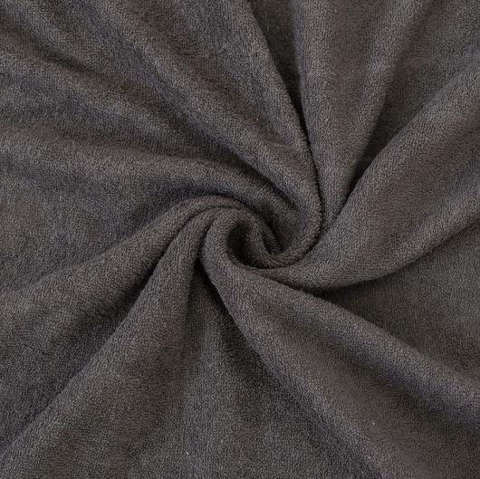Froté prostěradlo 140x200cm tmavě šedé