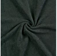 Froté prostěradlo 200x200cm černé