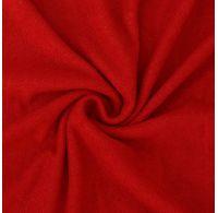 Froté prostěradlo 220x200cm červené