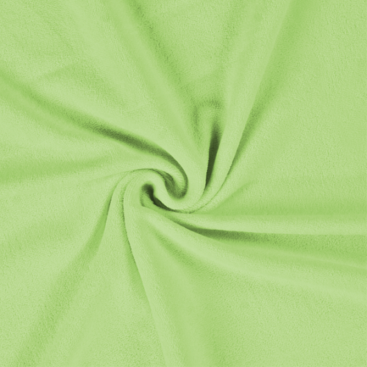 Froté prostěradlo 220x200cm světle zelené