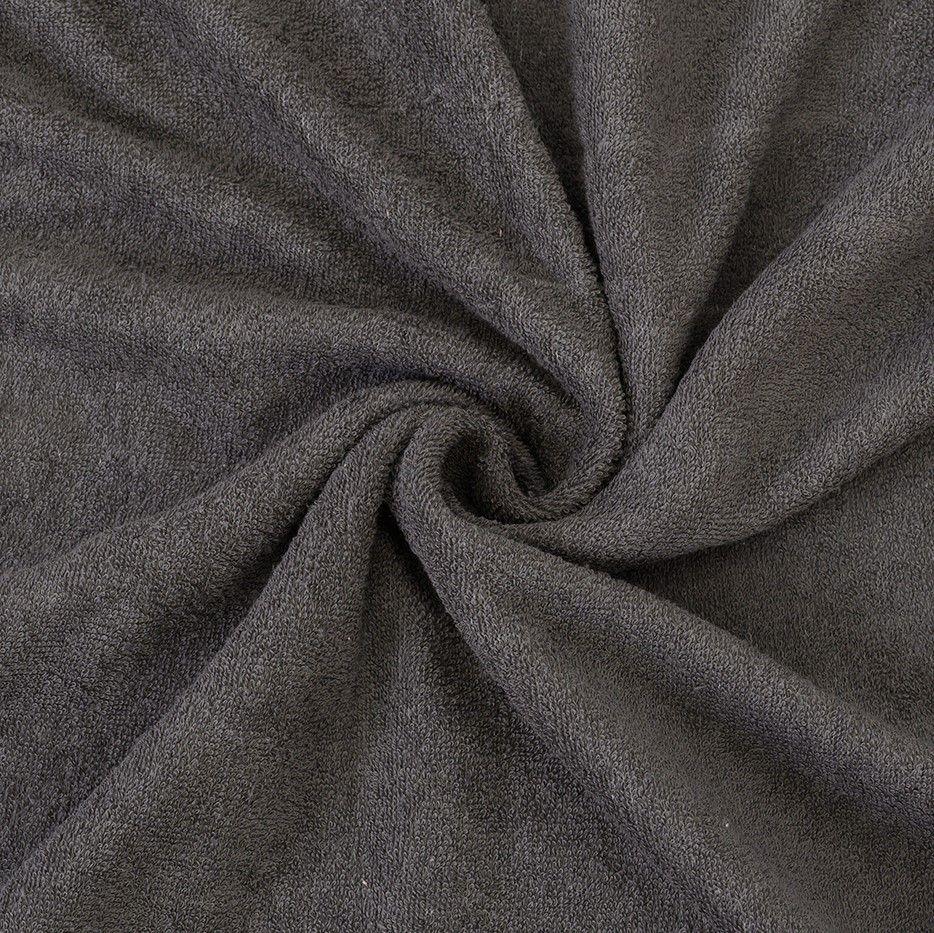 Kvalitex froté prostěradlo tmavě šedé