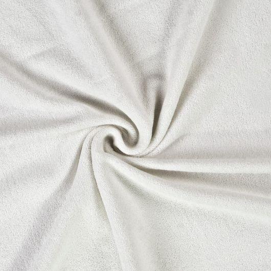 Froté prostěradlo dvojlůžko 180x200cm bílé