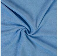 Froté prostěradlo dvojlůžko 180x200cm světle modré