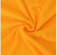 Froté prostěradlo dvojlůžko 180x200cm sytě žluté