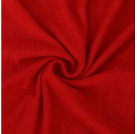 Froté prostěradlo jednolůžko 90x200cm červené