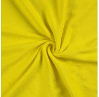 Froté prostěradlo jednolůžko 90x200cm citrón