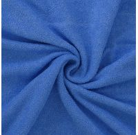 Froté prostěradlo jednolůžko 90x200cm modré