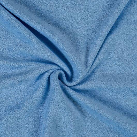 Froté prostěradlo jednolůžko 90x200cm světle modré