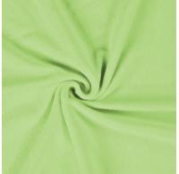Froté prostěradlo jednolůžko 90x200cm světle zelené