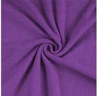 Froté prostěradlo jednolůžko 90x200cm tmavě fialové