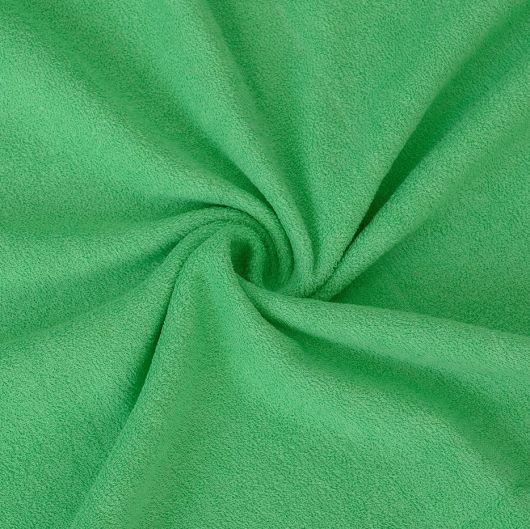 Froté prostěradlo jednolůžko 90x200cm zelené