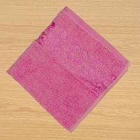 Froté ručník 50x100cm bordura růžový