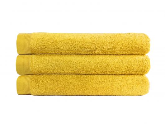 Froté ručník Klasik 50x100cm žlutý