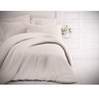 Jednobarevné bavlněné povlečení 140x200, 70x90cm bílé