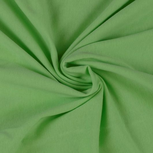 Jersey prostěradlo dětské 70x140cm světle zelené