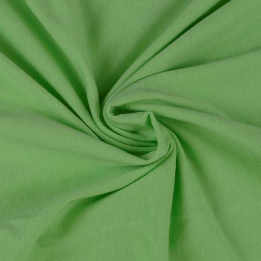 Jersey prostěradlo dvojlůžko 220x200cm světle zelené