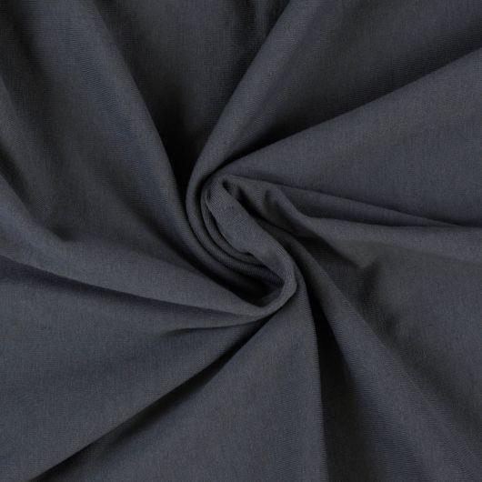 Jersey prostěradlo dvojlůžko 220x200cm tmavě šedé