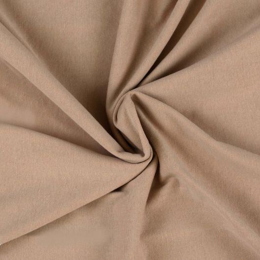 Jersey prostěradlo jednolůžko 100x200cm světle béžové