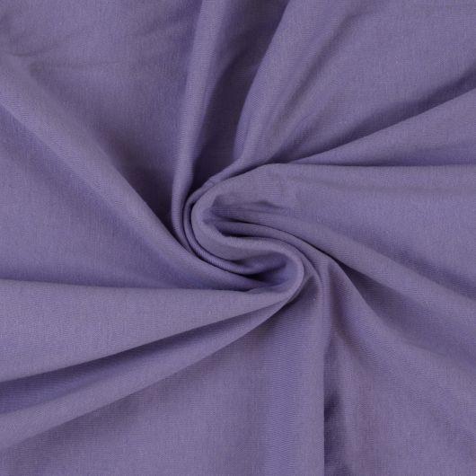 Jersey prostěradlo jednolůžko 100x200cm světle fialové