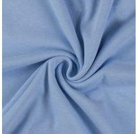 Jersey prostěradlo jednolůžko 100x200cm světle modré