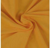 Jersey prostěradlo jednolůžko 100x200cm sytě žluté