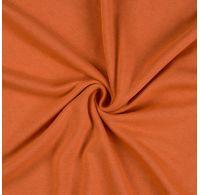 Jersey prostěradlo jednolůžko 100x200cm terrakota