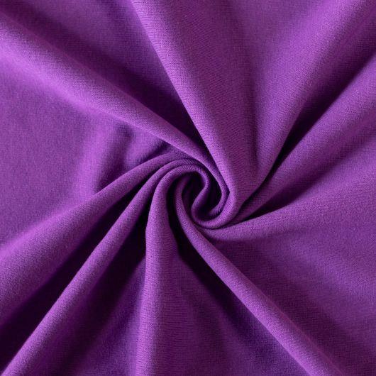 Jersey prostěradlo jednolůžko 100x200cm tmavě fialové