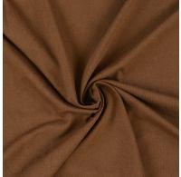 Jersey prostěradlo jednolůžko 100x200cm tmavě hnědé